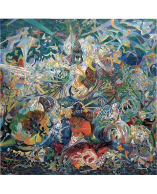 Puzzle Pomegranate - Joseph Stella: Battle of Enlightenment, Coney Island, 1.000 piese (AA808)