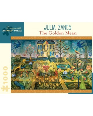 Puzzle Pomegranate - Julia Zanes: The Golden Mean, 2012, 1.000 piese (AA929)