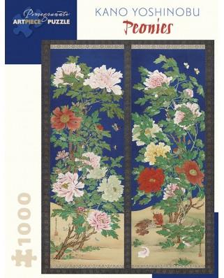 Puzzle Pomegranate - Kano Yoshinobu: Peonies, 1.000 piese (AA1034)