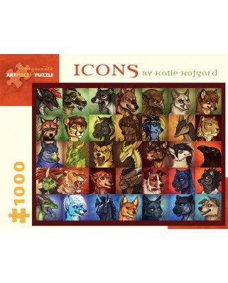 Puzzle Pomegranate - Katie Hofgard: Icons, 1.000 piese (AA926)
