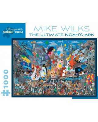Puzzle Pomegranate - Mike Wilks: The Ultimate Noah's Ark, 1990-1992, 1.000 piese (AA895)