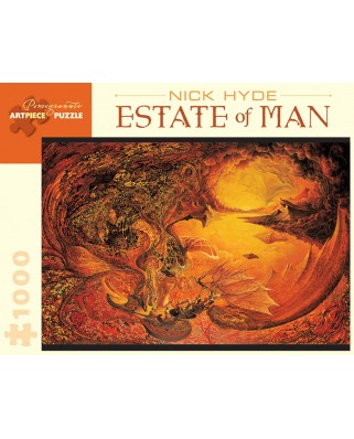 Puzzle Pomegranate - Nick Hyde: Estate of Man, 1.000 piese (AA841)