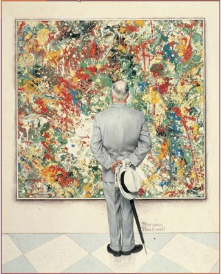 Puzzle Pomegranate - Norman Rockwell: The Connoisseur, 1000 piese (AA651)