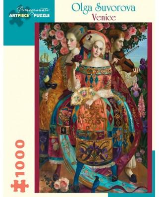Puzzle Pomegranate - Olga Suvorova: Venice, 2017, 1.000 piese (AA1008)
