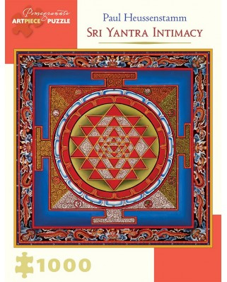Puzzle Pomegranate - Paul Heussenstamm: Sri Yantra Intimacy, 1.000 piese (AA931)