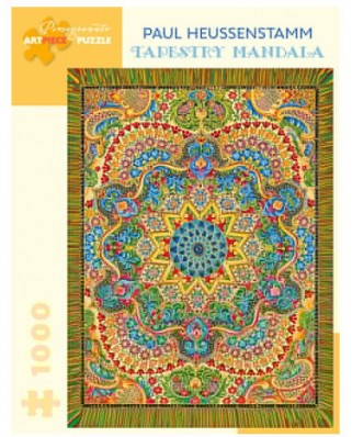 Puzzle Pomegranate - Paul Heussenstamm: Tapestry Mandala, 1.000 piese (AA1046)