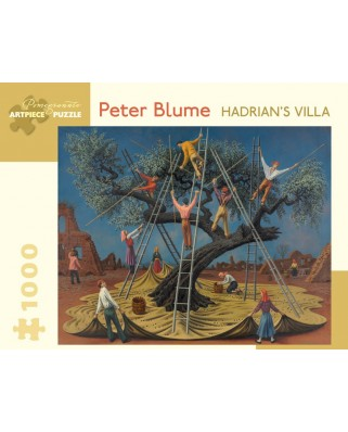 Puzzle Pomegranate - Peter Blume: Hadrian's Villa, 1958, 1.000 piese (AA865)