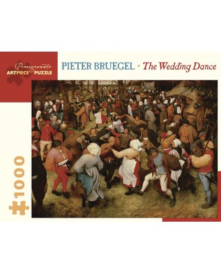 Puzzle Pomegranate - Pieter Bruegel: The Wedding Dance, 1.000 piese (AA1030)