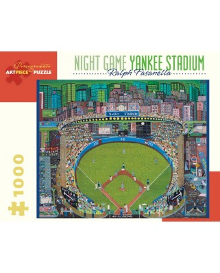 Puzzle Pomegranate - Ralph Fasanella: Night Game - Yankee Stadium, 1981, 1.000 piese (AA912)