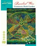 Puzzle Pomegranate - Rosalind Wise: Geometric Herb Garden, 1000 piese (AA924)
