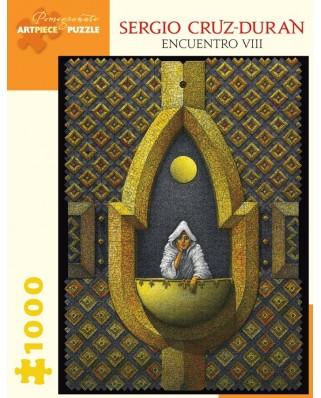 Puzzle Pomegranate - Sergio Cruz-Duran: Encuentro VIII, 2011, 1.000 piese (AA898)