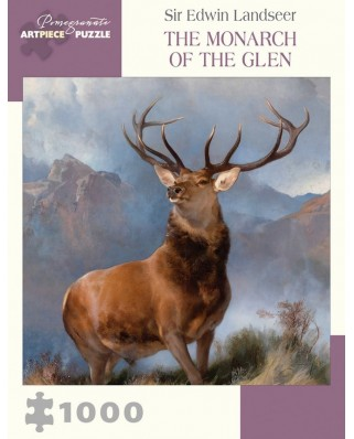 Puzzle Pomegranate - Sir Edwin Landseer: The Monarch of the Glen, 1.000 piese (AA1007)