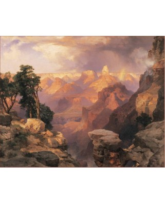 Puzzle Pomegranate - Thomas Moran: Grand Canyon with Rainbow, 1.000 piese (AA312)