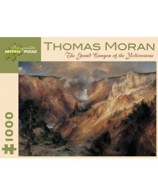 Puzzle Pomegranate - Thomas Moran: The Grand Canyon of Yellowstone, 1.000 piese (AA611)