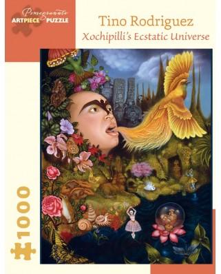 Puzzle Pomegranate - Tino Rodriguez: Xochipilli's Ecstatic Universe, 2004, 1.000 piese (AA917)
