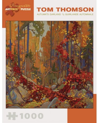 Puzzle Pomegranate - Tom Thomson: Autumn's Garland, 1.000 piese (AA825)