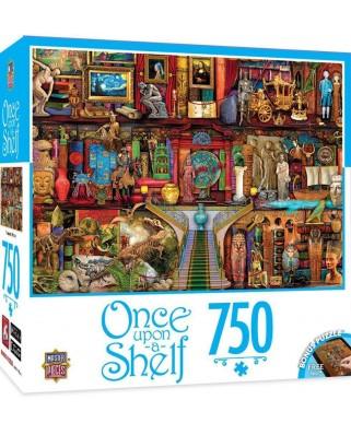 Puzzle Master Pieces - Treasured History, 750 piese (Master-Pieces-31621)