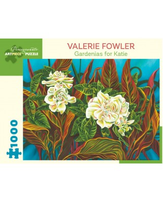 Puzzle Pomegranate - Valerie Fowler: Gardenias for Katie, 1.000 piese (AA1044)