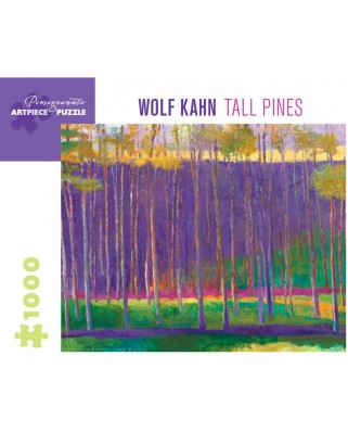 Puzzle Pomegranate - Wolf Kahn: Tall Pines, 1999, 1.000 piese (AA1037)