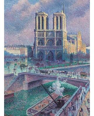 Puzzle Pomegranate - Maximilien Luce: Notre-Dame, 1.000 piese (AA1033)