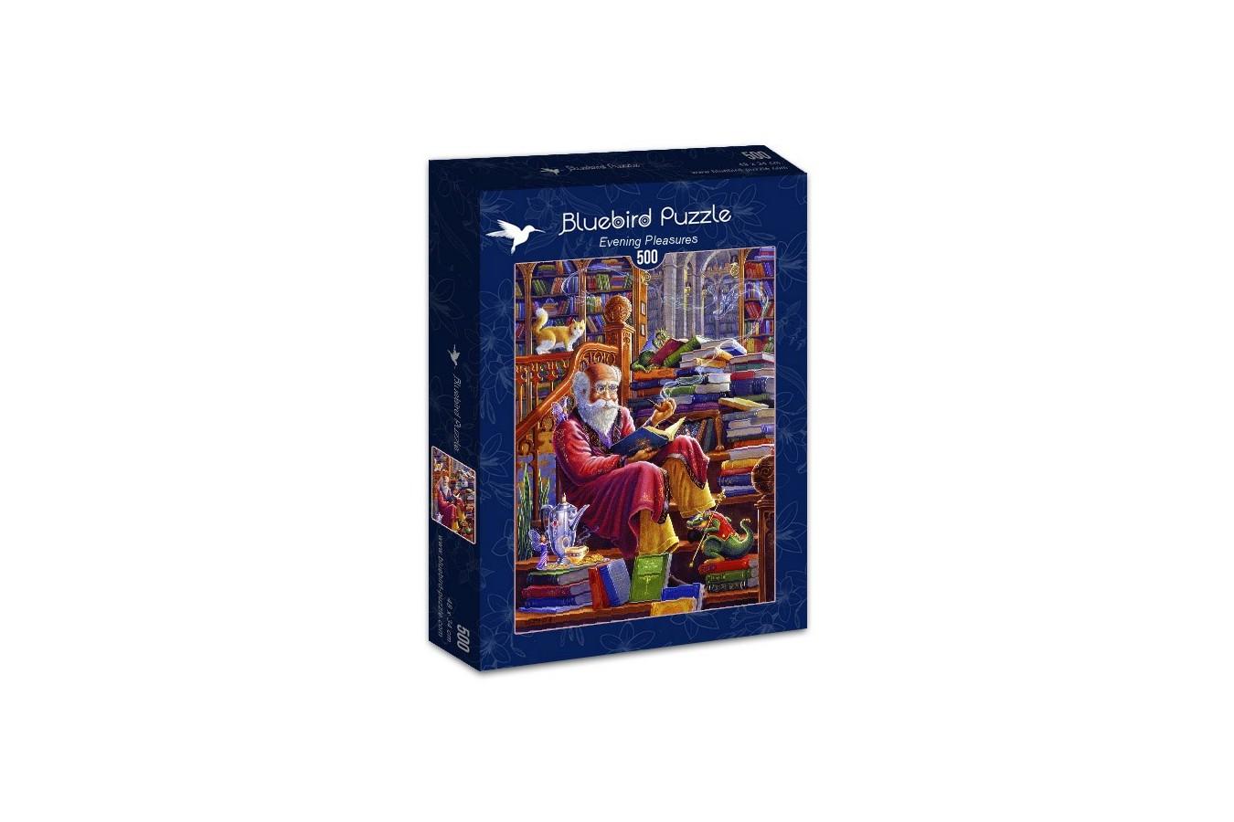 Puzzle Bluebird Puzzle - Evening Pleasures, 500 piese (Bluebird-Puzzle-70217)