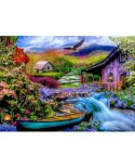 Puzzle Bluebird Puzzle - Heaven on Earth in the Mountains, 1500 piese (Bluebird-Puzzle-70210)