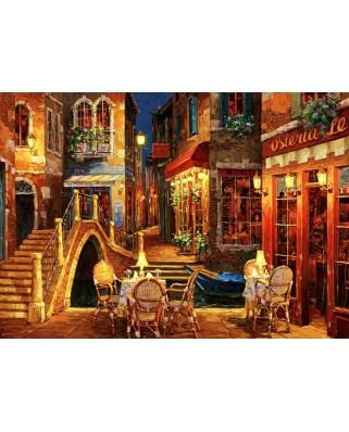 Puzzle Bluebird Puzzle - Viktor Shvaiko: Ristorante Da Roberto, 1500 piese (Bluebird-Puzzle-70213)