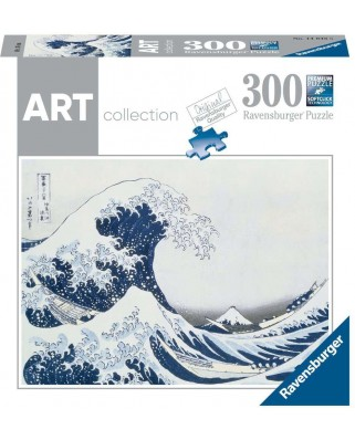 Puzzle Ravensburger - Katsushika Hokusai: The Great Wave, 300 piese (14845)