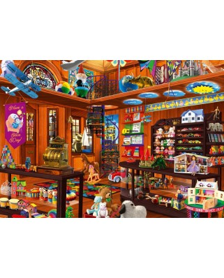 Puzzle Bluebird - Toy Shoppe Hidden, 1.000 piese (Bluebird-Puzzle-70227-P)
