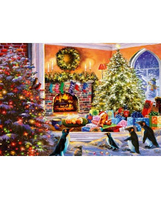 Puzzle Bluebird - A Magical View to Christmas, 1.000 piese (Bluebird-Puzzle-70228-P)
