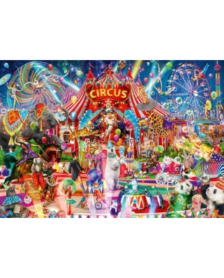 Puzzle Bluebird - Aimee Stewart: A Night at the Circus, 4.000 piese (Bluebird-Puzzle-70229-P)