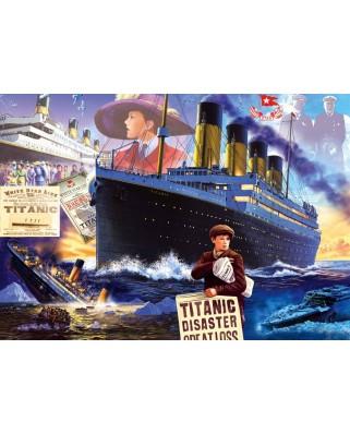 Puzzle Bluebird - Steve Crisp: Titanic, 1.000 piese (Bluebird-Puzzle-70231-P)