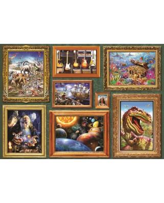 Puzzle Bluebird - Boy's 8 Gallery, 1.000 piese (Bluebird-Puzzle-70233-P)