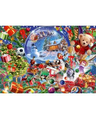 Puzzle Bluebird - Christmas Globe, 1.000 piese (Bluebird-Puzzle-70236-P)