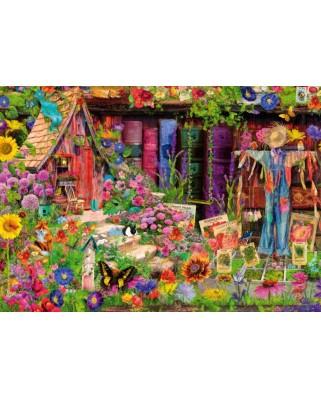 Puzzle Bluebird - Aimee Stewart: The Scarecrow's Garden, 1.000 piese (Bluebird-Puzzle-70238-P)