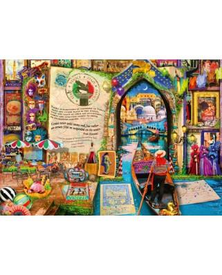 Puzzle Bluebird - Aimee Stewart: Life is an Open Book Venice, 1.000 piese (Bluebird-Puzzle-70242-P)