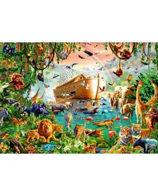 Puzzle Bluebird - Noah's Ark, 1.000 piese (Bluebird-Puzzle-70243-P)