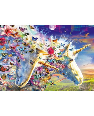 Puzzle Bluebird - Unicorn Dream, 1.000 piese (Bluebird-Puzzle-70245-P)