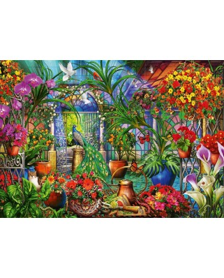 Puzzle Bluebird - Marchetti Ciro: Tropical Green House, 1.000 piese (Bluebird-Puzzle-70248-P)
