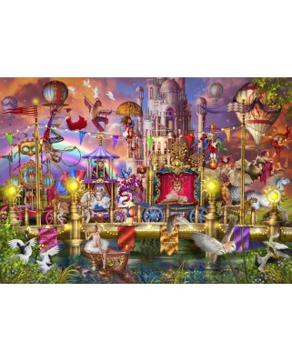 Puzzle Bluebird - Marchetti Ciro: Magic Circus Parade, 6.000 piese (Bluebird-Puzzle-70251-P)