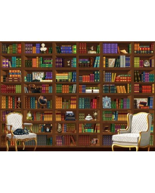 Puzzle Bluebird - The Vintage Library, 6.000 piese (Bluebird-Puzzle-70252-P)