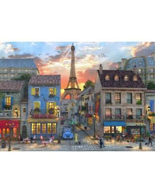 Puzzle Bluebird - Dominic Davison: Streets of Paris, 4.000 piese (Bluebird-Puzzle-70253-P)