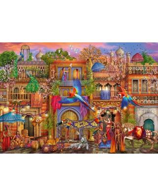 Puzzle Bluebird - Marchetti Ciro: Arabian Street, 4.000 piese (Bluebird-Puzzle-70255-P)