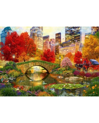 Puzzle Bluebird - Central Park NYC, 4.000 piese (Bluebird-Puzzle-70256-P)