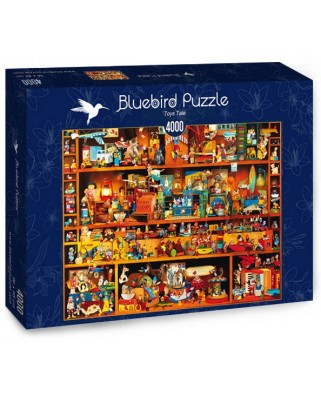 Puzzle Bluebird - Toys Tale, 4.000 piese (Bluebird-Puzzle-70260-P)