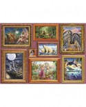 Puzzle Bluebird - Girl's 8 Gallery, 6.000 piese (Bluebird-Puzzle-70261-P)