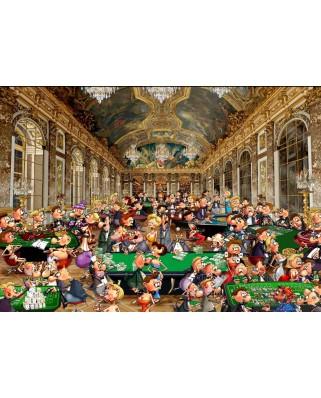 Puzzle Bluebird - Francois Ruyer: Casino, 1500 piese (Bluebird-Puzzle-70263)