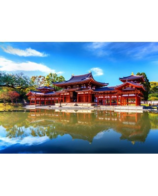 Puzzle Bluebird - Byodo-In Temple, 1.000 piese (Bluebird-Puzzle-70268)