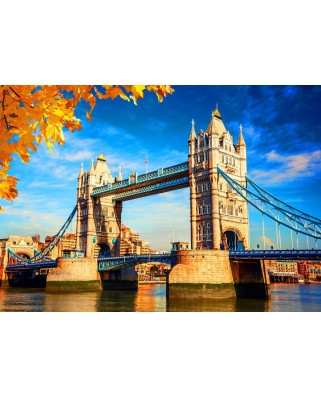 Puzzle Bluebird - Tower Bridge, 500 piese (Bluebird-Puzzle-70270)