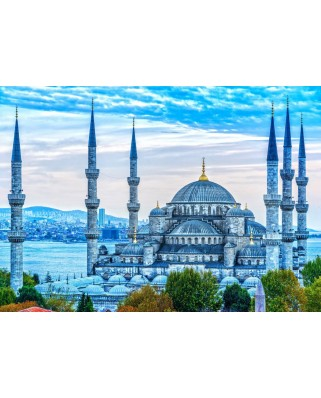 Puzzle Bluebird - The Blue Mosque, 1.000 piese (Bluebird-Puzzle-70271)